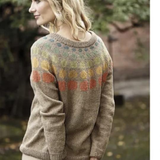 Sweater med bomber