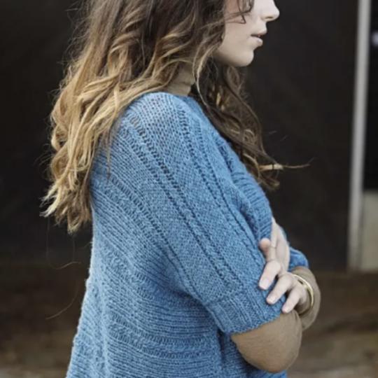 Sweater på tværs