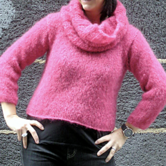 So Simple Pullover and Cowl