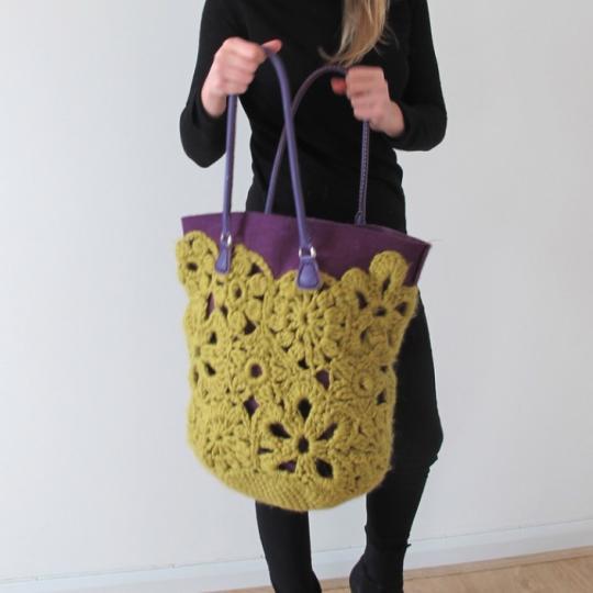 Crochet Lace Bag