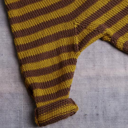 EK7 Striped Baby Leggins