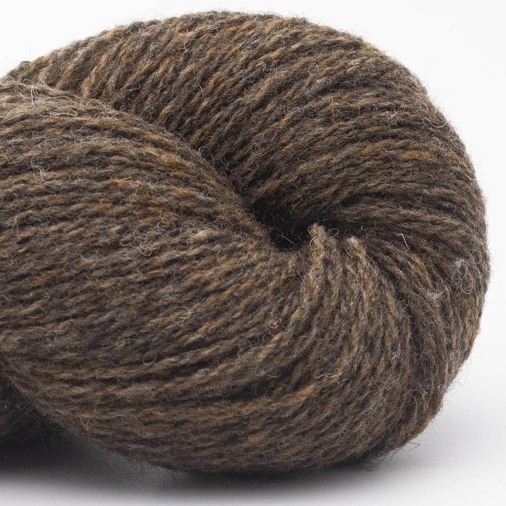 BC Garn Bio Shetland brown marled