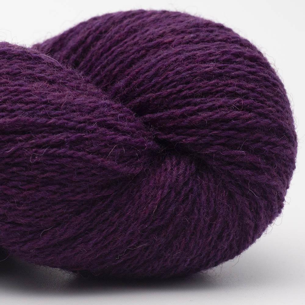 BC Garn Bio Shetland dark purple