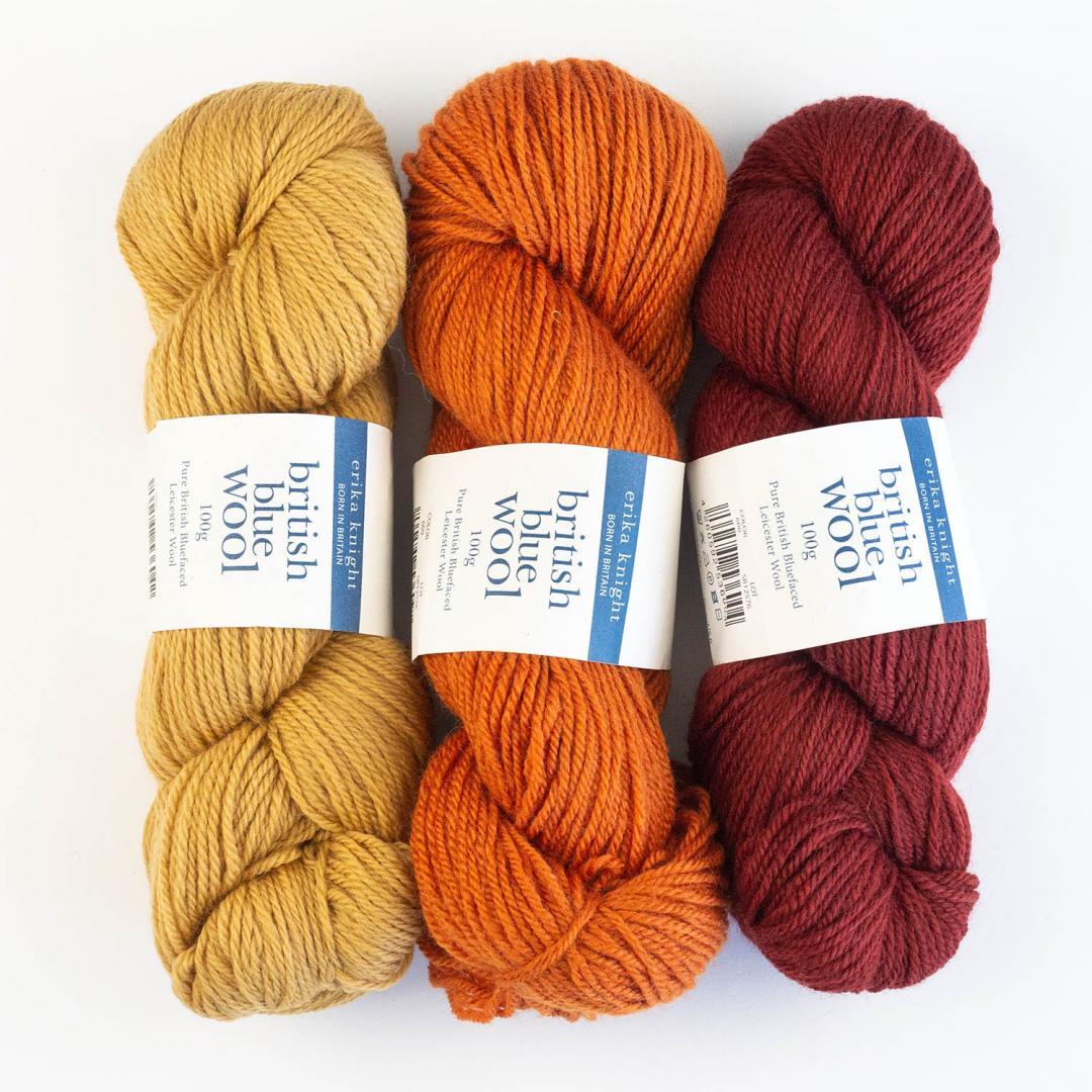 Erika Knight British Blue Wool 100  Mrs Dalloway