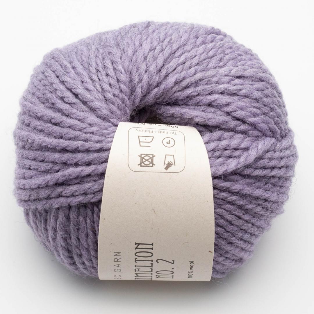 BC Garn Hamelton 2 violet grey