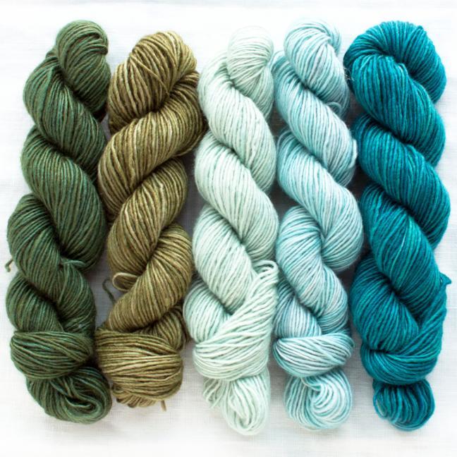 Manos del Uruguay Silk Blend Fino minis Flora