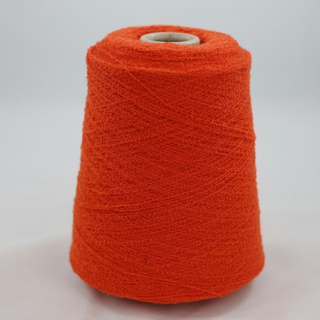 BC Garn Bouclé Fino 400g Kone orange