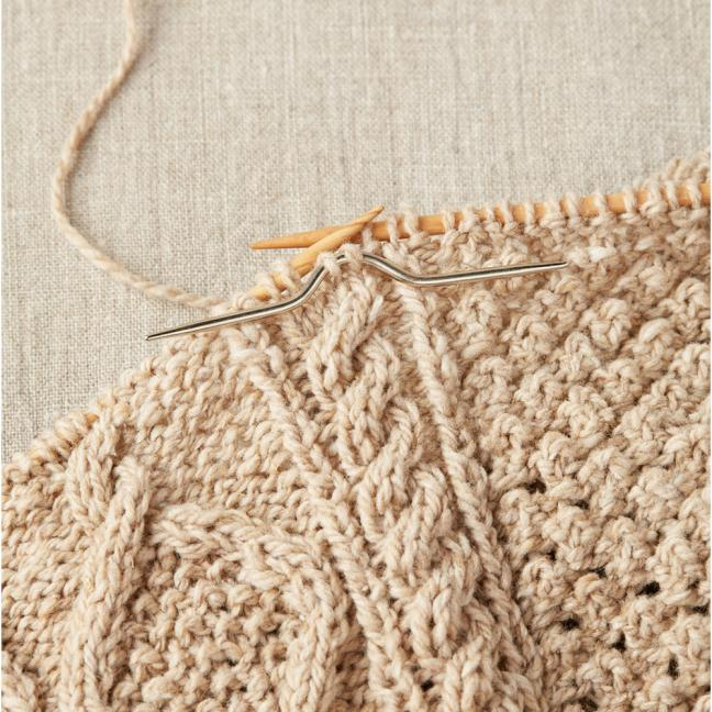 CocoKnits Kabel nåle  Curved Cable Needle