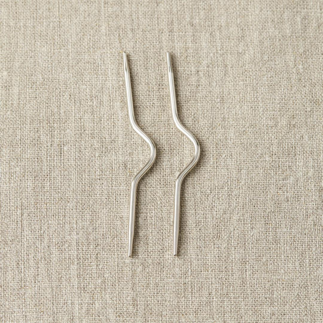 CocoKnits Kabelnåle  Curved Cable Needle