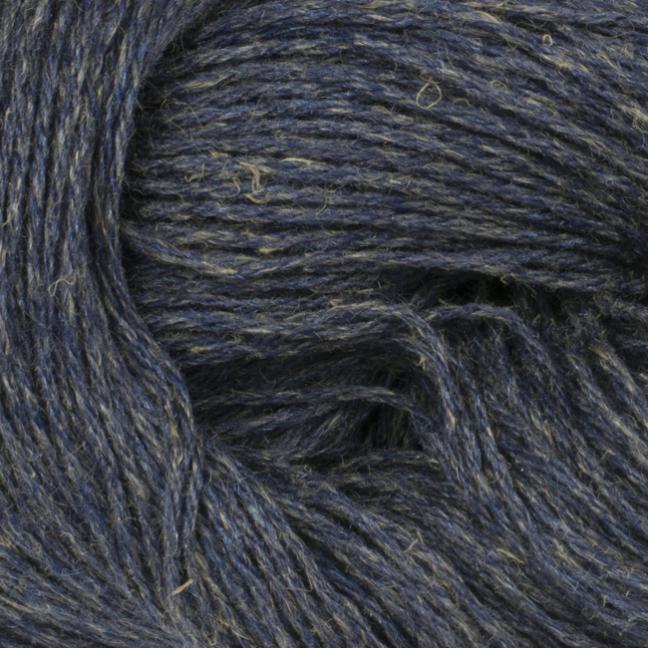 BC Garn Colori auf 900g-Konen blau-beige-meliert