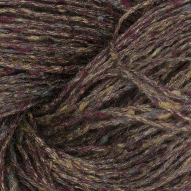 BC Garn Tussah Tweed on 1kg-cones grey-Fantasie
