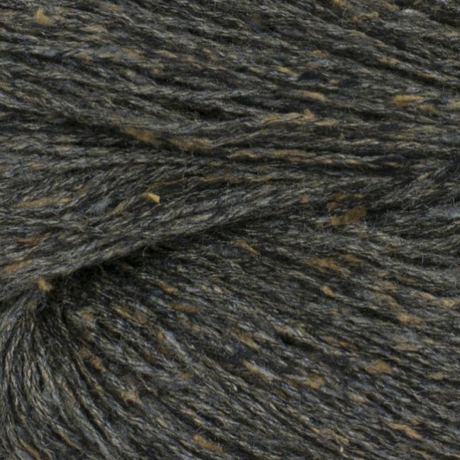 BC Garn Tussah Tweed on 1kg-cones brown-earth- mix