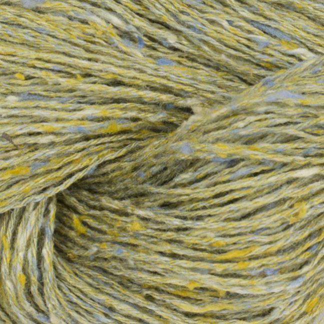 BC Garn Tussah Tweed on 1kg-cones green-summer-mix