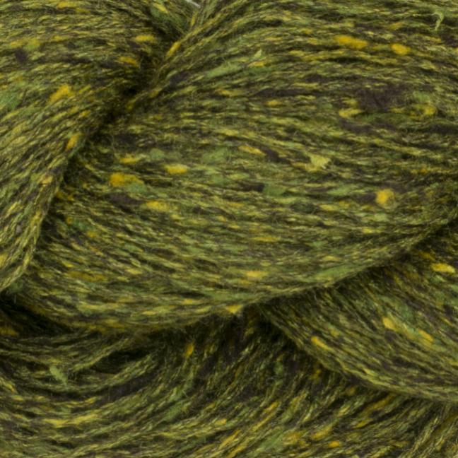 BC Garn Tussah Tweed on 1kg-cones waldgrün