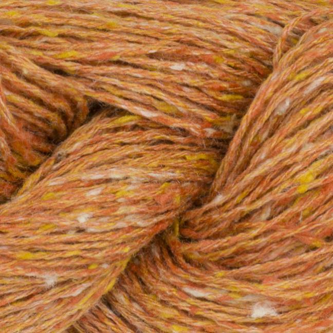 BC Garn Tussah Tweed on 1kg-cones  orange