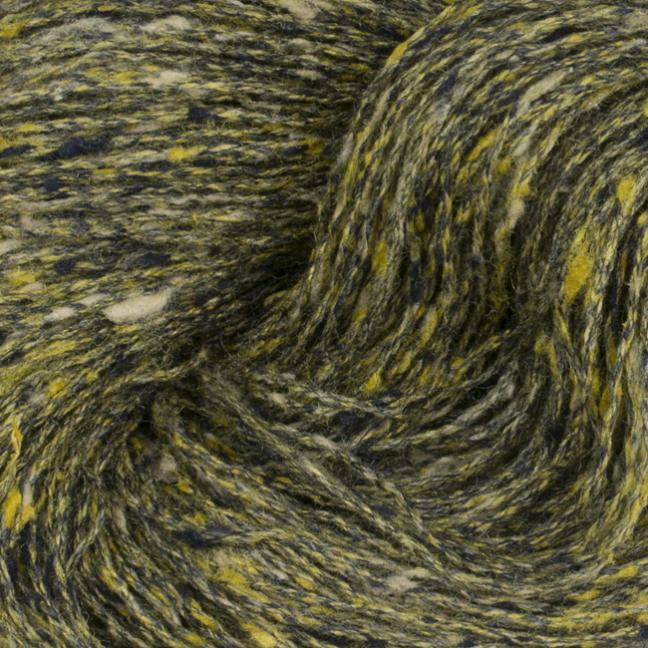 BC Garn Tussah Tweed on 1kg-cones yellow-gold-mix