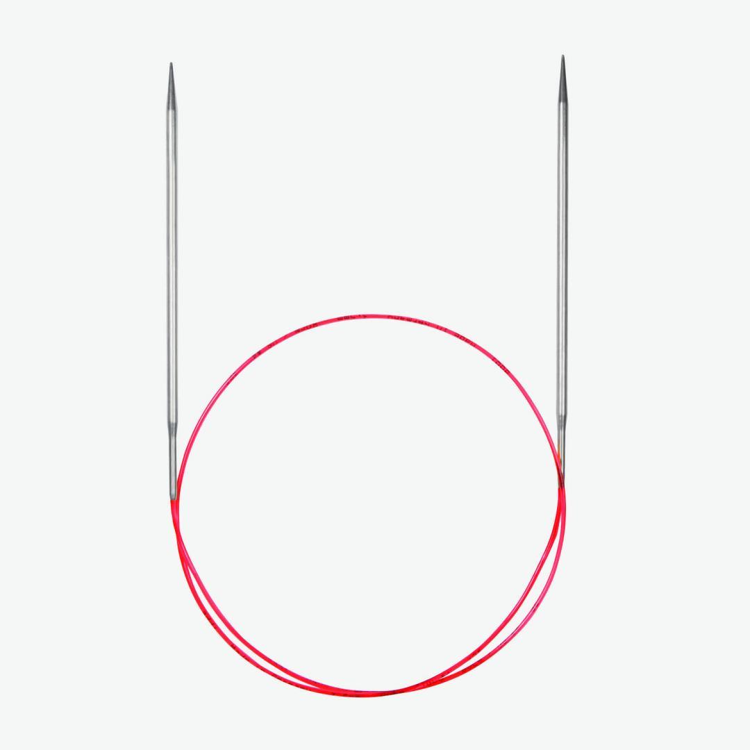Addi Lace rundpinde 775-7 og 715 med ekstra lange spidser  6,5 mm_100cm