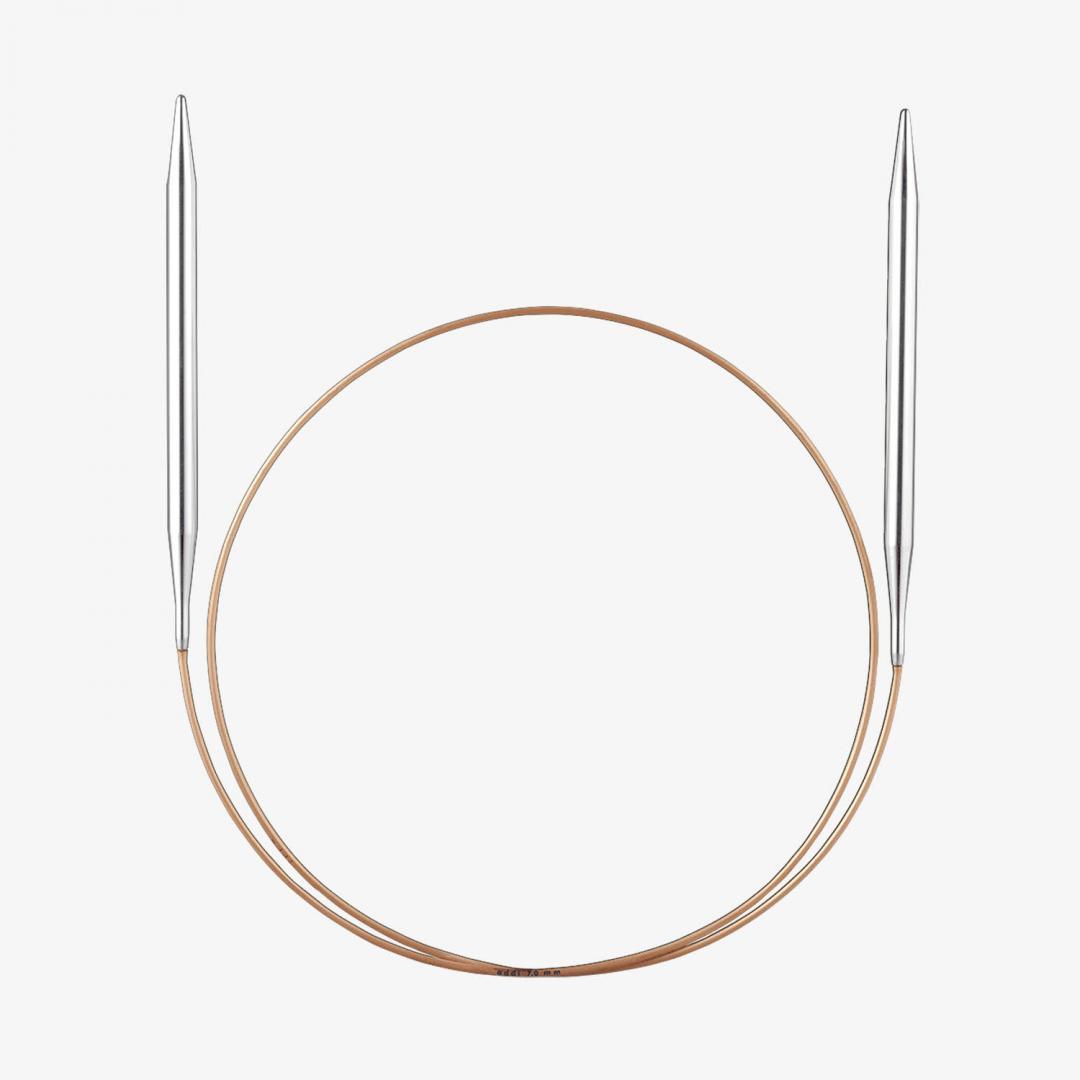 Addi Addi lace rund pinde med messing spids 2,5mm_100cm