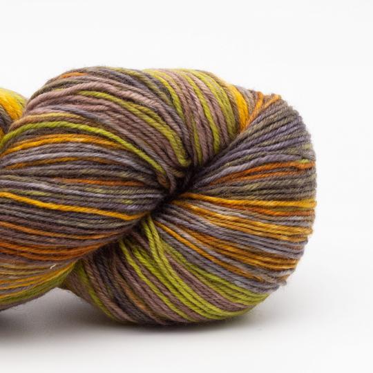 Kremke Soul Wool Lazy Lion Strømpegarn Indian Summer