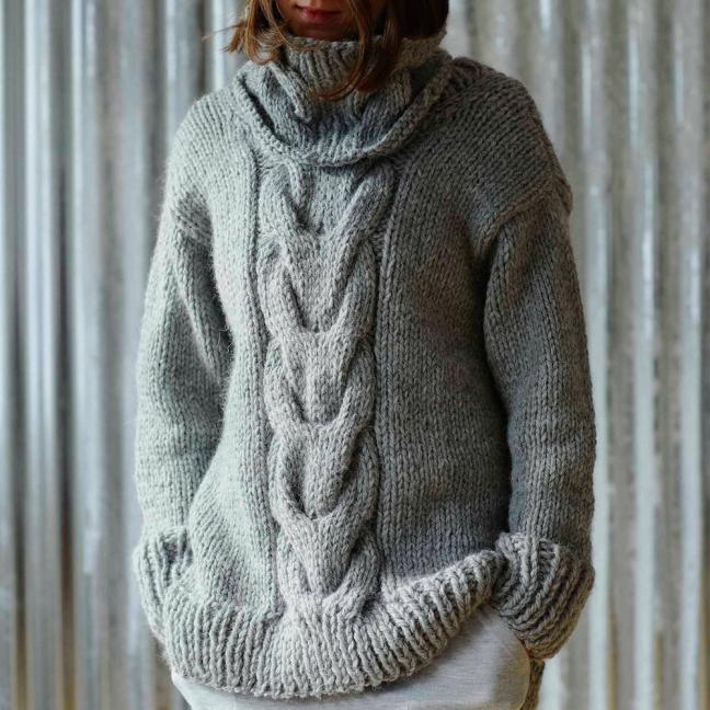 Erika Knight Einzelanleitungen/Patterns Maxi Wool Maxiwool Sunday Englisch