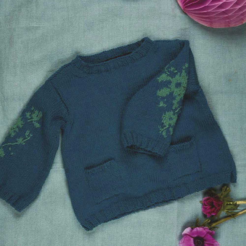 Erika Knight Printed patterns Gossypium Ditzy Gossypium Englisch