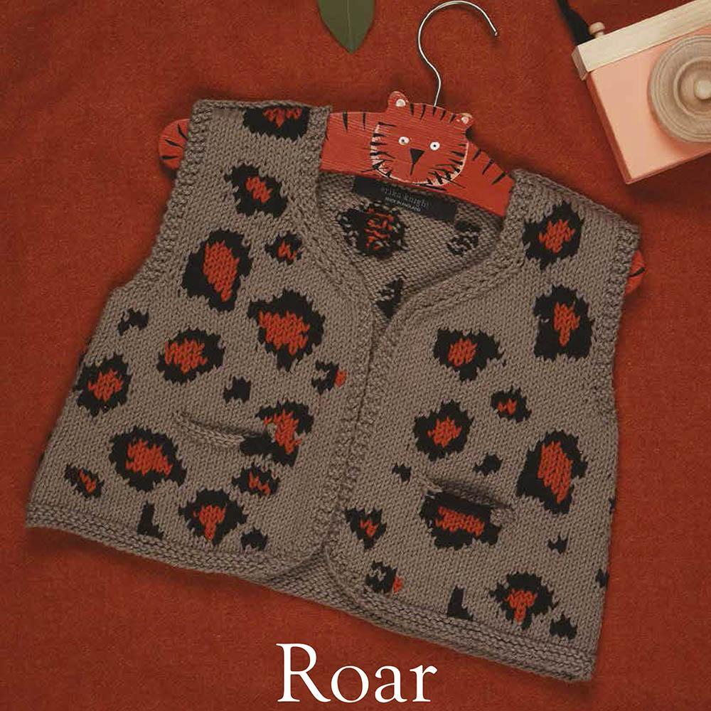 Erika Knight Printed patterns Gossypium Roar Englisch