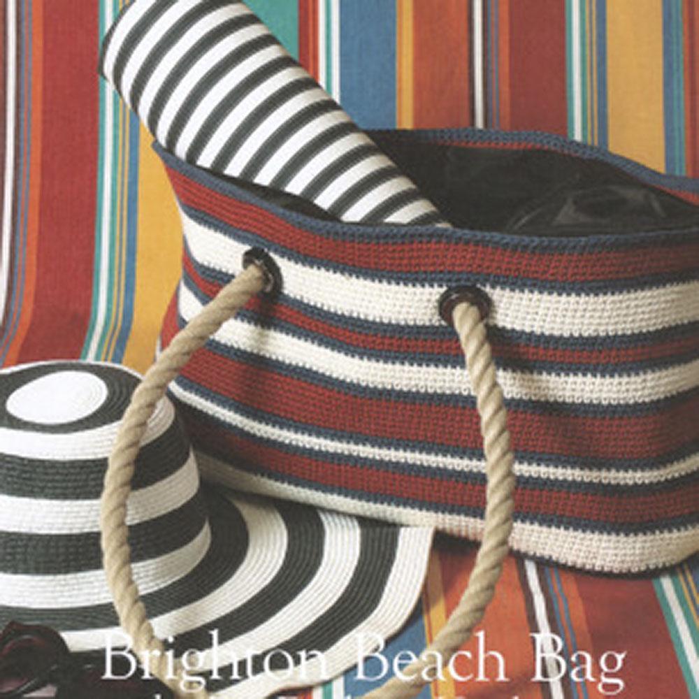 Erika Knight Printed patterns Gossypium Brighton Beach Bag Englisch