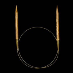 Addi Oliventræs rundpinde 575-7 5mm_40cm