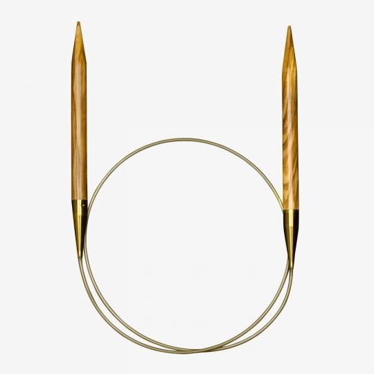Addi Oliventræs rundpinde 575-7 3mm_60cm