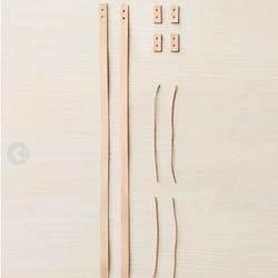 CocoKnits Læder håndtag