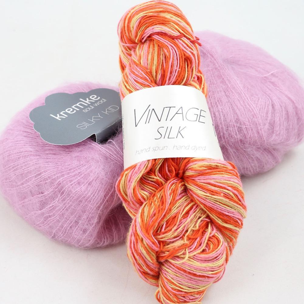 Karen Noe Design Vintage Silke