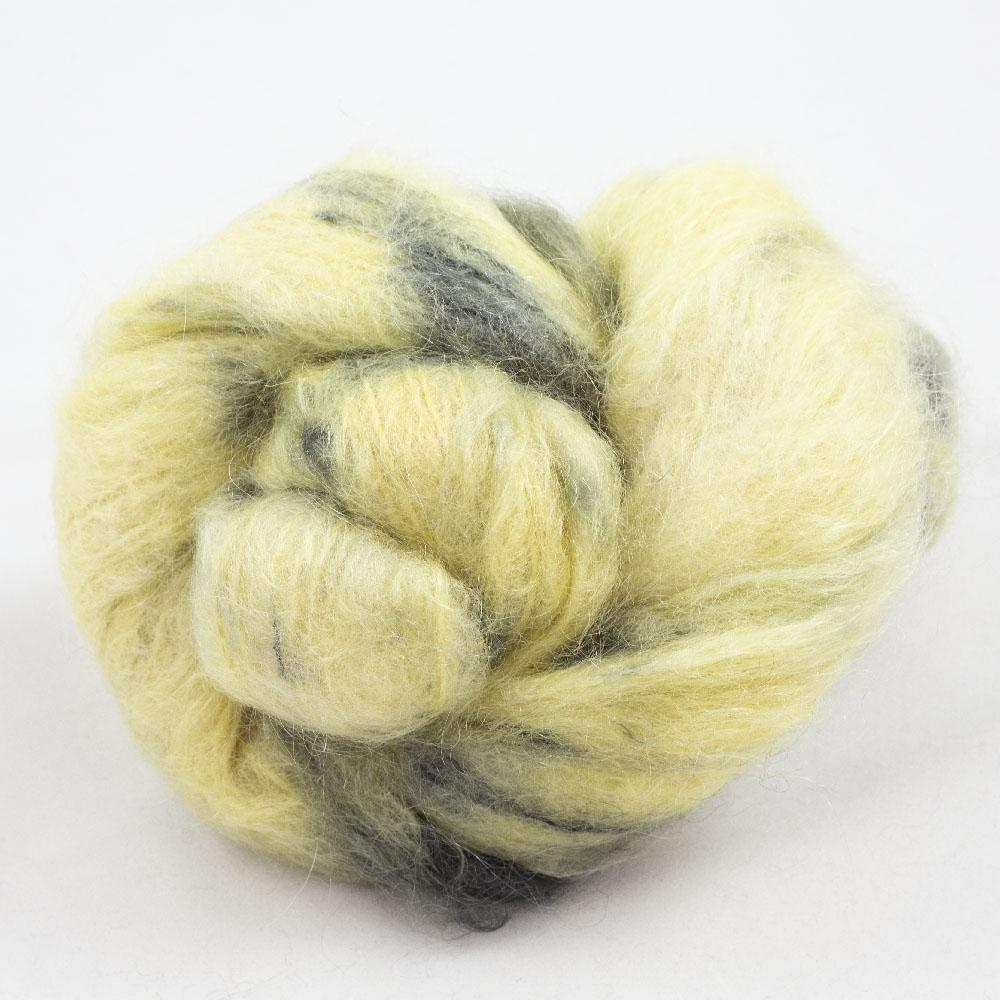 Cowgirl Blues Fluffy Mohair Gradient 100g Limoncello