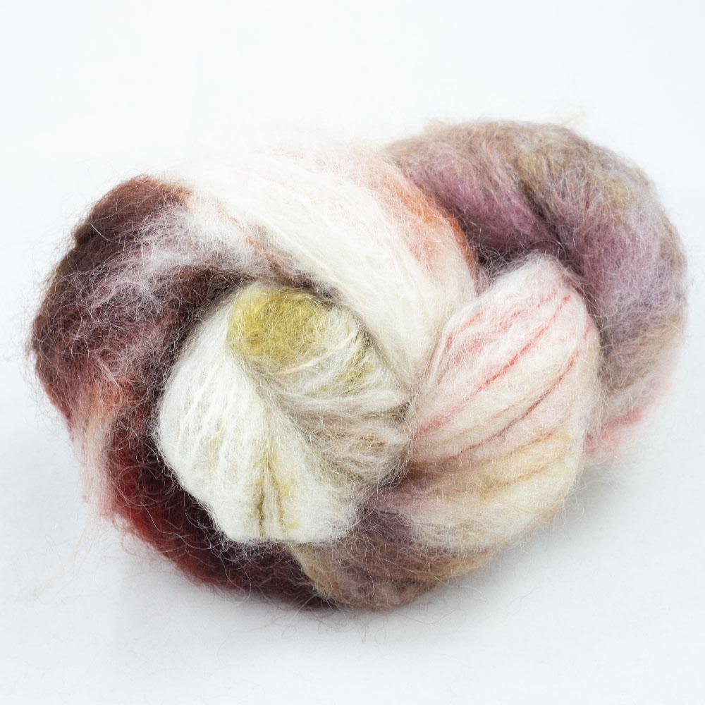 Cowgirl Blues Fluffy Mohair Gradient 100g Peaches and Cream