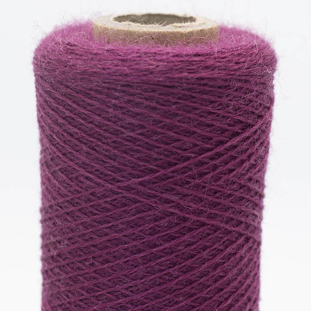 Kremke Soul Wool Merino Spindelvævs Lace 25/2 Dark Purple