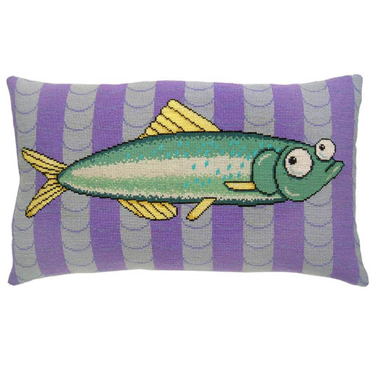 Fru Zippe Fish on Stripes 740352 Leckere Hecht auf Streifen