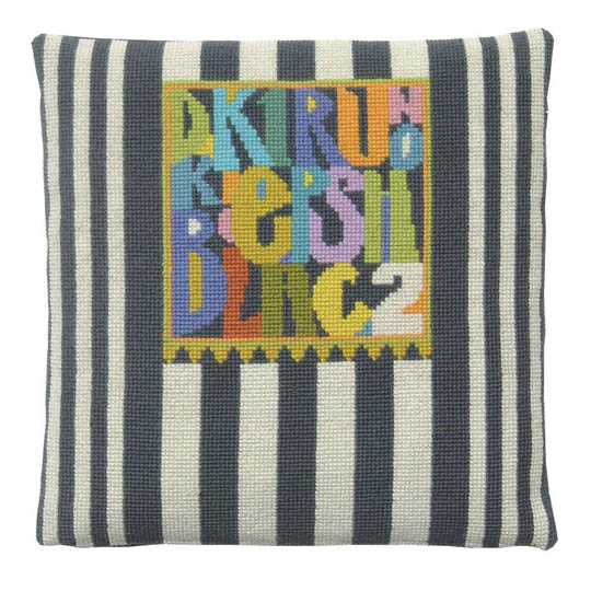 Fru Zippe Pillow Letters small 740145