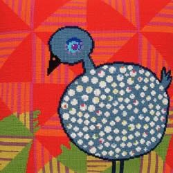 Fru Zippe African Chicken 740196 Perlhuhn