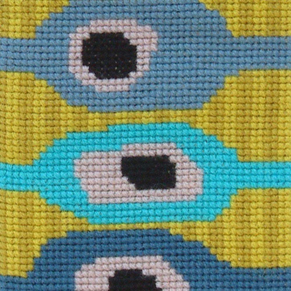 Fru Zippe Brillenetui Blauäugig 71 0443 Blauäugig