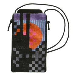 Fru Zippe phone bag 71 T17 T18 and T19 Schwarz