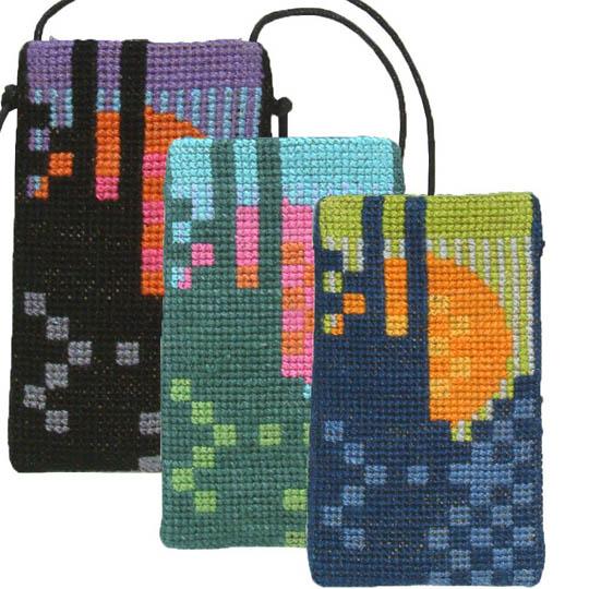 Fru Zippe phone bag 71 T17 T18 and T19 Blau