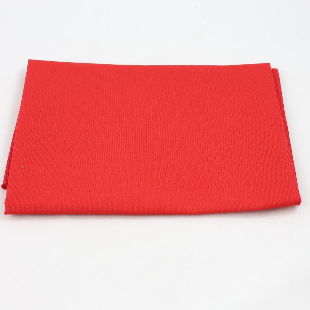 Fru Zippe Rückseitenstoff für Kissen Rot