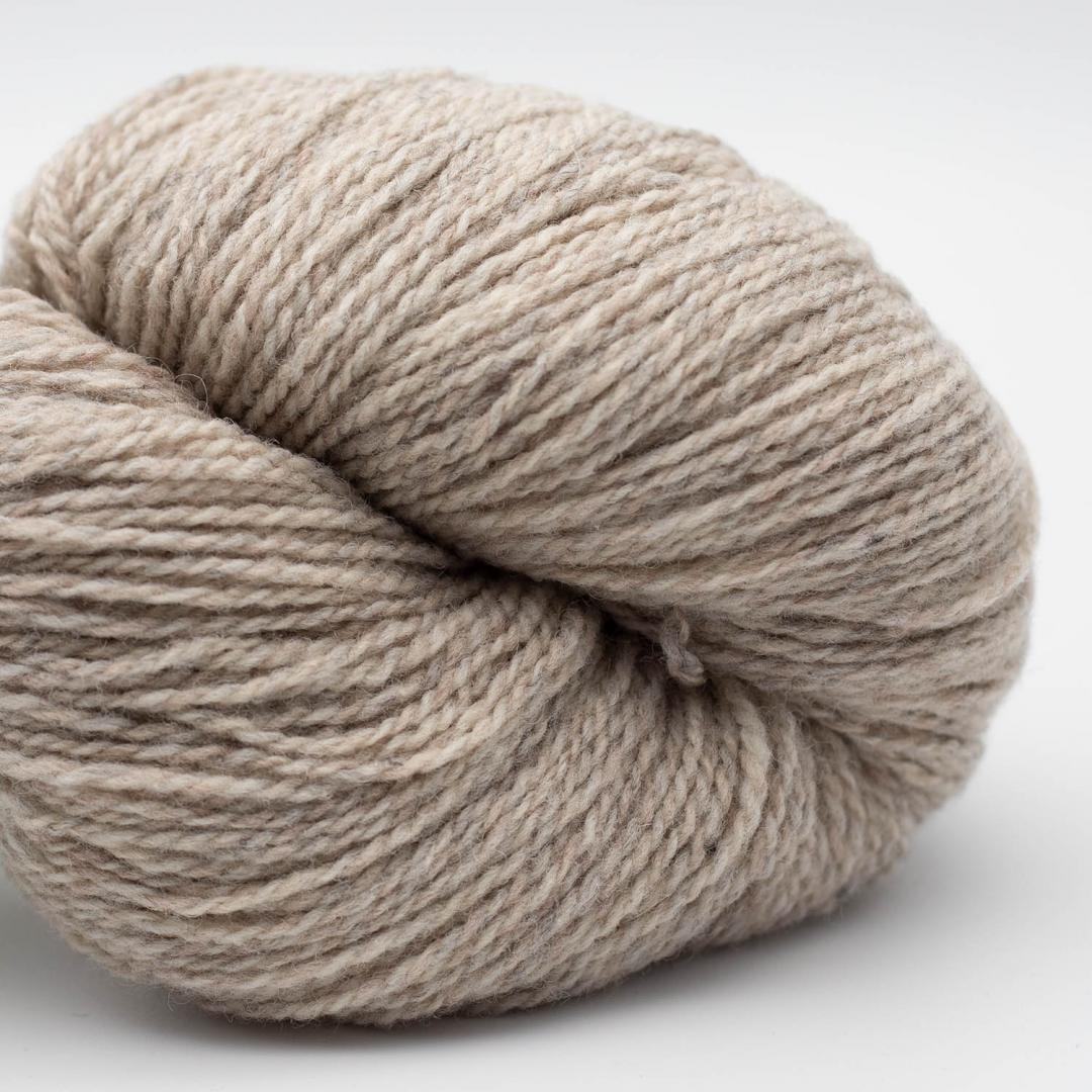 BC Garn Semilla Pura GOTS certificeret Beige Grey Marled