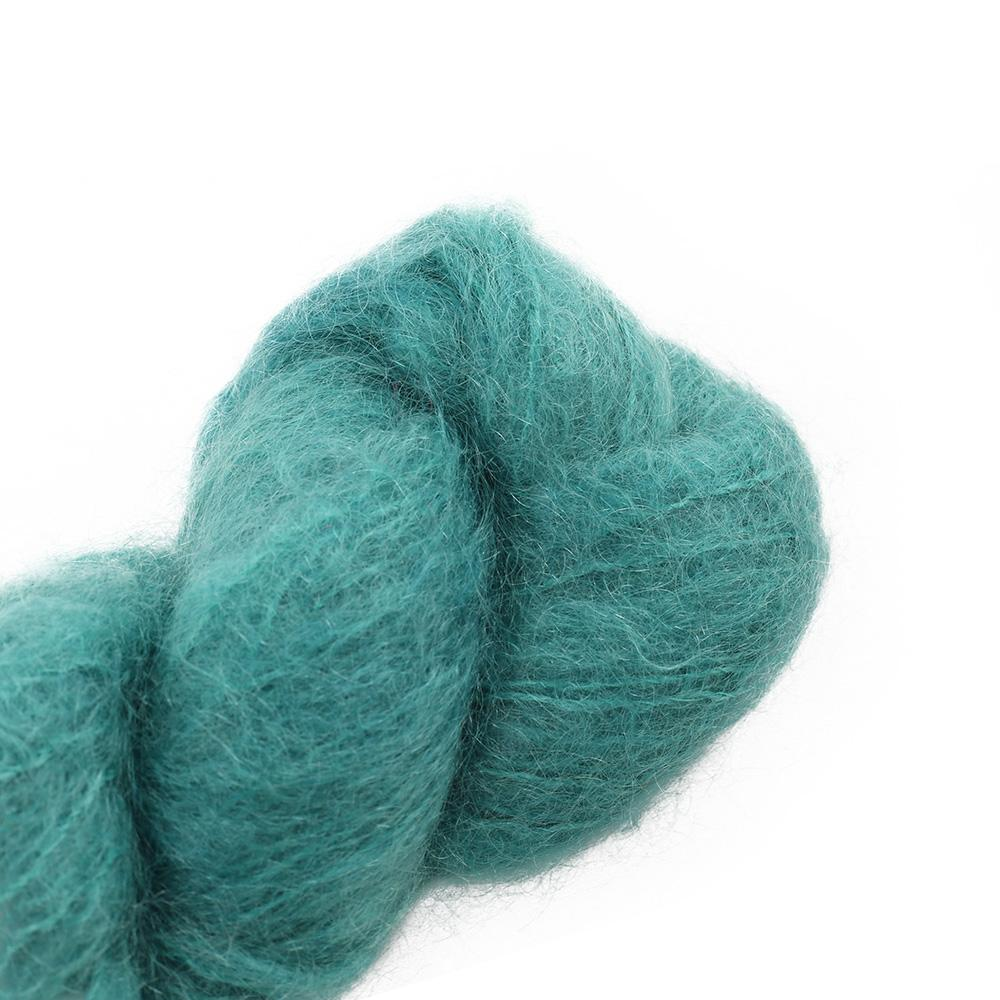 Cowgirl Blues Fluffy Mohair Semi Solids 100g 41-Camps Bay