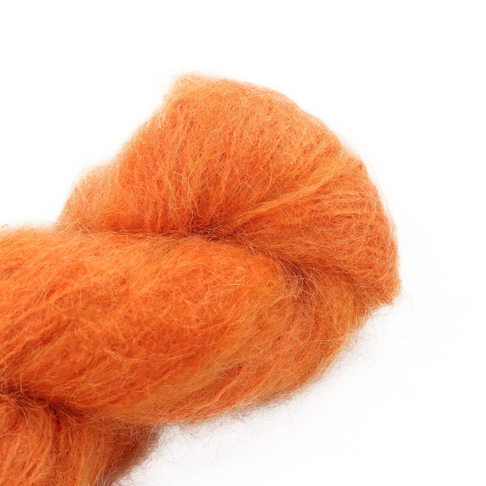 Cowgirl Blues Fluffy Mohair Semi Solids 100g 42-Carrot Juice