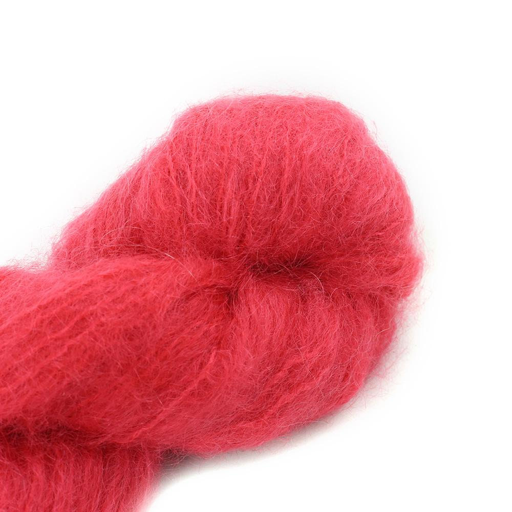 Cowgirl Blues Fluffy Mohair Semi Solids 100g 23-Lipstick