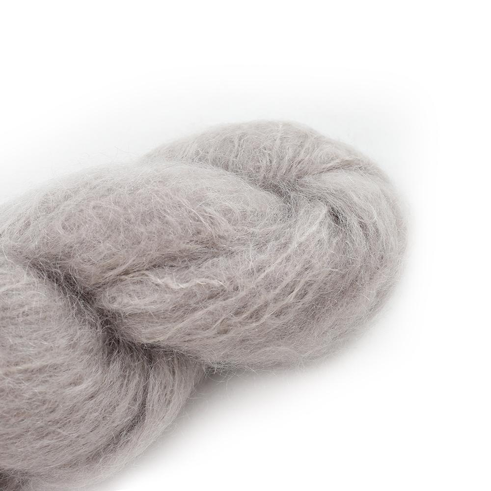 Cowgirl Blues Fluffy Mohair Semi Solids 100g 04-Sable