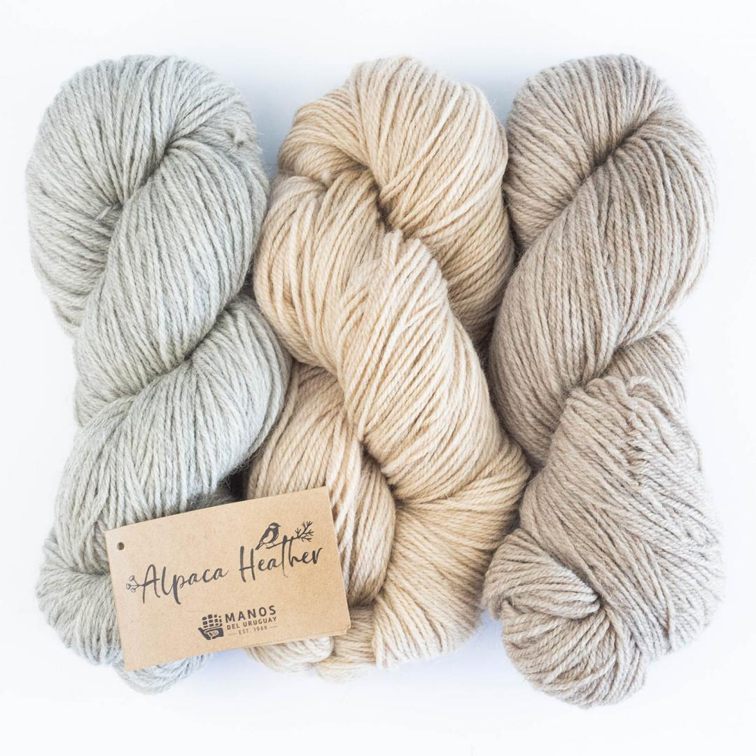 Manos del Uruguay Alpaca Heather Naturals
