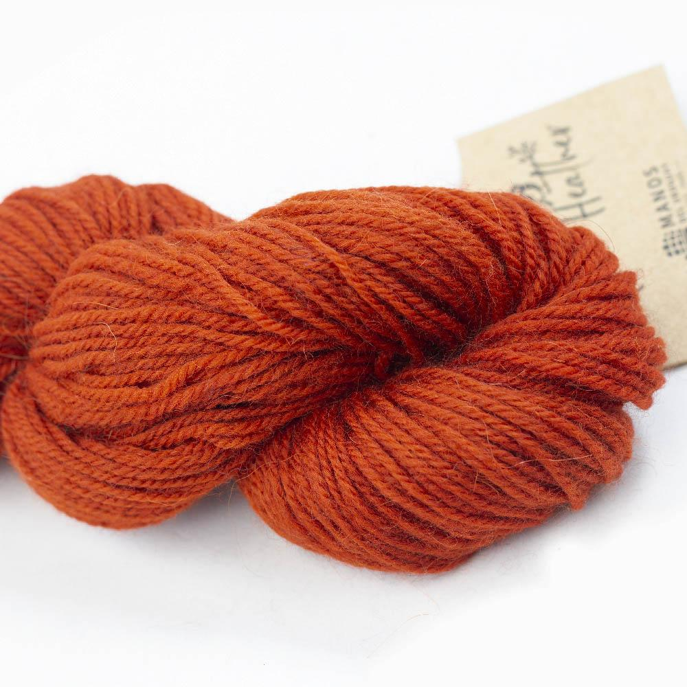 Manos del Uruguay Alpaca Heather Semi Solids Zinnia