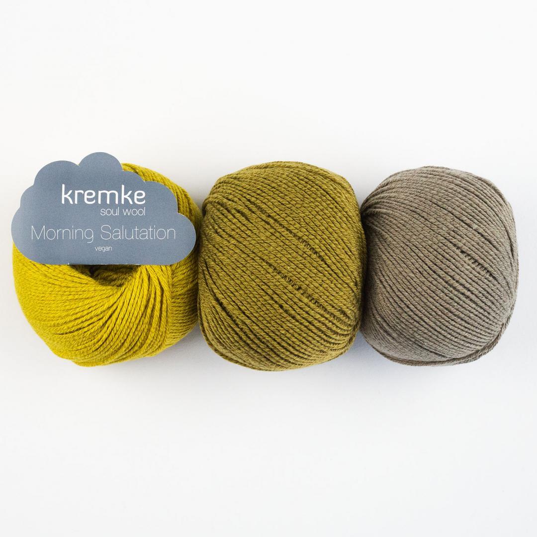 Kremke Soul Wool Morning salutation vegan  Weiß