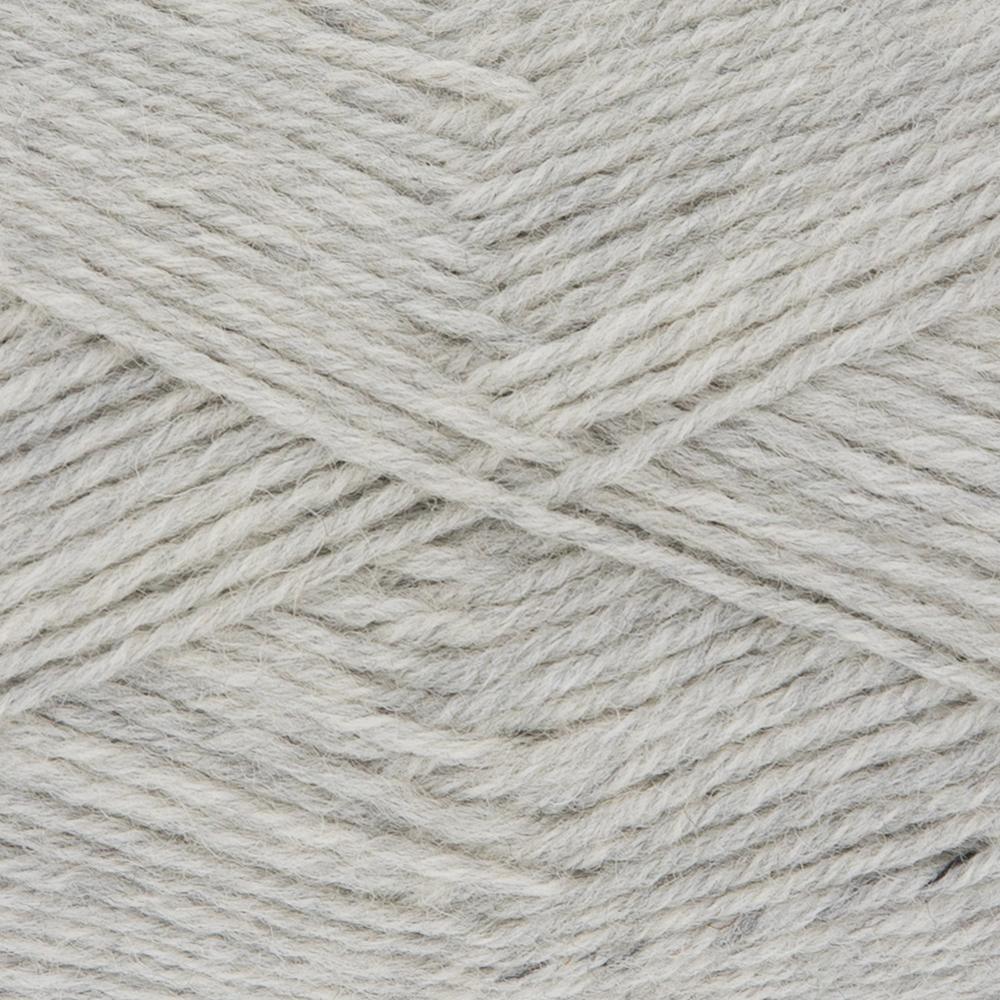 Kremke Soul Wool Edelweiss 50 Light grey solid